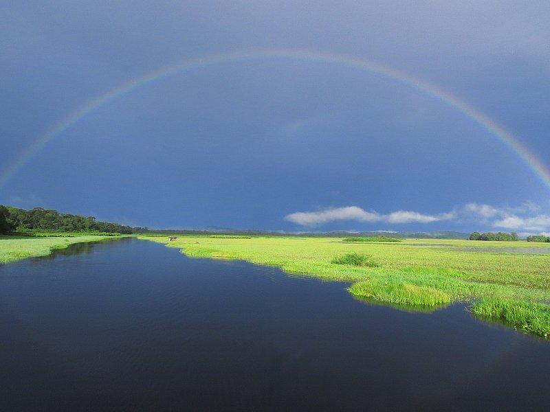 Arc en ciel - Marais de Kaw