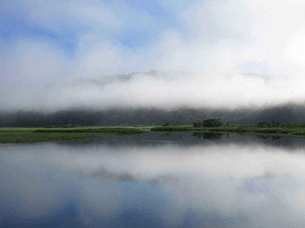 Lever du jour - Marais de Kaw - Photo Philippe PIGREE