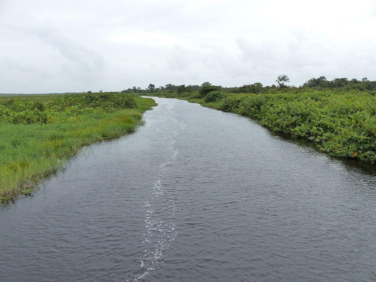 Rivière de Kaw départ